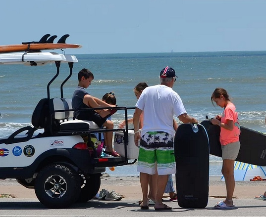 Golf Cart Rentals in Galveston