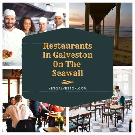 Restaurants in Galveston on Seawall