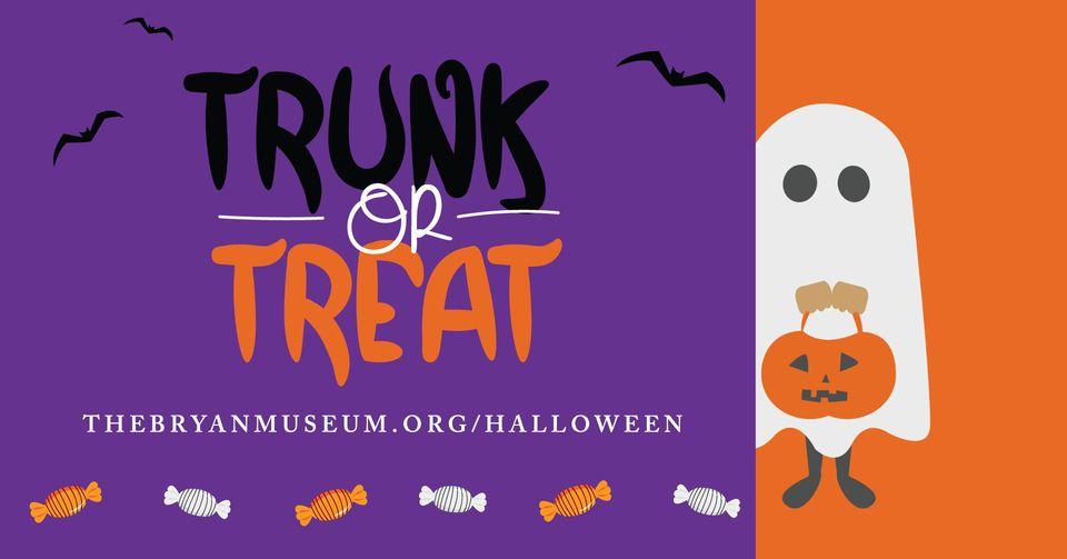 trunk or treat bryan museum