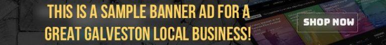 YesGalveston.com Banner Ad